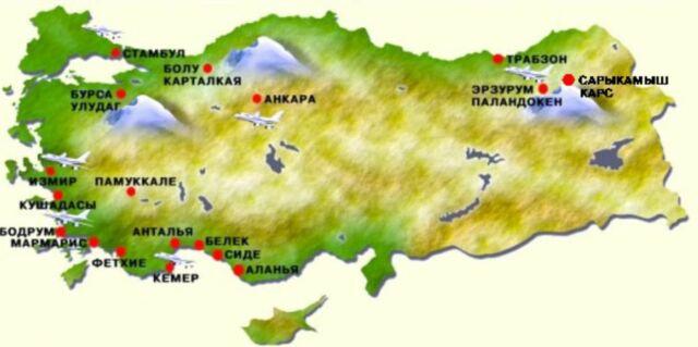 Турция погода в мае температура воды